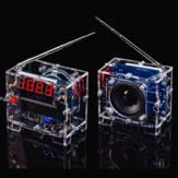 WangDaTao TEA5767 Kit Rádio DIY FM Rádio Digital Eletrônico DIY Solda Kit