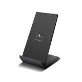20W Vertikal Wireless Fast Induction Charger Smartphone Pengisian Desktop Stand
