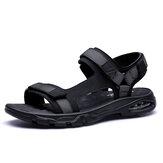 Men Mesh Fabric Comfy Massage Soft Sole Beach Sandals