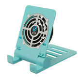 Bakeey Mini Fan Cooling Desktop Phone Holder Foldable Heat Dissipation Lazy Stand for Samsung