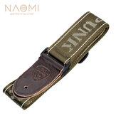 NAOMI Guitar Strap Гитарные аксессуары Регулируемый наплечный ремень Детали музыкальных инструментов Темно-зеленый
