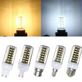 G9 E14 B22 GU10 E27 LED 5W 42 SMD 5733 LED White Warm White Cover Corn LED Bulb Light AC 220V