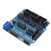 10 sztuk UNO R3 Tarcza czujnika V5 Płytka rozszerzająca Geekcreit dla Arduino - produkty współpracujące z oficjalnymi płytami Arduino