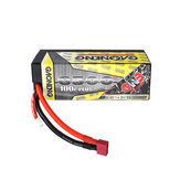 Gaoneng GNB 14.8V 6500mAh 100C 4S Lipo Battery T Plug for 1:8 RC Car