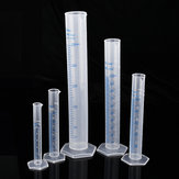 5Pcs 10/ 25/ 50/ 100/ 250mL Plastic Measuring Cylinder Beaker Tube Flask Cups Laboratory Scale