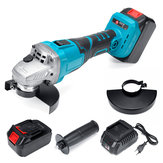 40V 128TV 29800mA Electric Angle Grinder Cordless Grinding Machine Power Cutting Tool Set