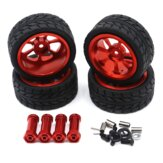Wltoys 144001 RC Car Tire + Hub Wheel Vehicle Models Parts