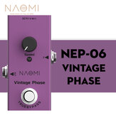 NAOMI Guitar Effect Pedal True Bypass Design #NEP-06 DC 9V Mini Single Pedal Acoustic Guitar Use