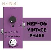 نعومي تصميم تأثير الغيتار الدواسة الالتفافية صحيح # NEP-06 تيار منتظم 9 فولت البسيطة مفرد استخدام الغيتار الدواسة الصوتية