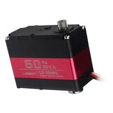 LOBOT LD-260MG 180 ° 60KG Large Torque Metal Gear digitale Servo per robot RC