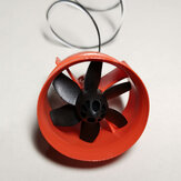 K30 30mm EDF Ducted Fan Unit with 8520 Coreless Brushed Motor for Mini RC Airplane Fixed-Wing