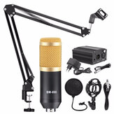 BM800 Microphone Condenser Sound Recording Microphone With Shock Mount For Radio Braodcasting Singing Recording KTV Karaoke Mic