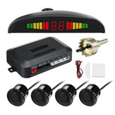 4 Sensors 22mm Buzzer Car Parking Sensor Kit Reverse Backup Sound Alert System