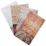 3x5 pies 0.9x1.5m ladrillo madera de grano fino fondo fotografía apoyos estudio fotográfico telón de fondo