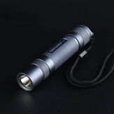Gray Convoy S2+ SST20 LED Flashlight 18650 Flashlight Camping Light Hunting Emergency Lantern