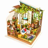 Robotime DG108 DIY Doll House Miniature With Furniture Wooden Dollhouse Toy Decor Craft Gift