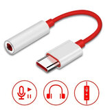 Bakeey USB Type-C to 3.5mm Jack OTG Adapter Headphone Audio Aux Cable Converter For Mi10 POCO X3 Oneplus 8Pro S20 Note20
