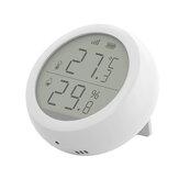 Bakeey Tuya Z-bee WIFI درجة الحرارة والرطوبة اللاسلكية المستشعر LCD شاشة تستخدم مع بوابة للمنزل ذكي