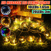1.65M 3M LED Palace Fairy String Light Bateria Ramadan Powered Party Lamp Decoração de casa