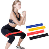 3Pcs/Set 20lb+30lb+40lb Yoga Resistance Bands Stretching Rubber Loop Exercise Pilates Fitness Equipment