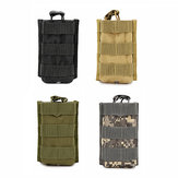 MOLLE Mini Walkie Talkie Tactical Bag Military Camouflage Outdoor Camping Hunting Bag Storage Pouch