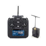 Eachine TX16S 2.4GHz 16CH Hall Sensor Gimbals Radios Transmitter with Happymodel ES24TX ExpressLRS ELRS Micro TX Module Combo Set for RC Drone