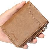 Baellerry Men Multifunctional Short Wallet Card Holder