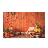 5x7FT Vinyl Autumn Countryside Pumpkin Photography Backdrop Background Studio Prop