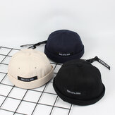 Mens Summer Street Trend Melon Hat Brimless Hat