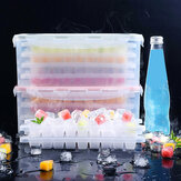 Multilayer Ice Cube Mold Ice Tray Maker voor keukenopslag Home Kitchen Tools