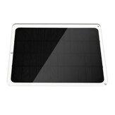 20 W 600mA Porta USB do painel solar para ciclismo, montanhismo, caminhada, acampamento, viagem, painéis solares