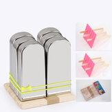 KCASA KC-ICE18 Paquete de 6 piezas de acero inoxidable Popsicle molde alimentos grado hielo Lolly fabricante verano regalos