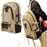 التخييم السفر المشي لمسافات طويلة على ظهره حقيبة قماش حقيبة