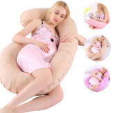 Multifunctional Mother Pillow Side Lying Pillow Cotton Comfortable U Shaped Pillow Body Removeable Pillow Case