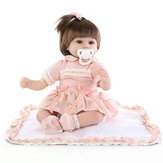 18inch Reborn Baby Girl Doll Handmade Lifeike Baby Girl Dolls Jouer Jouets maison