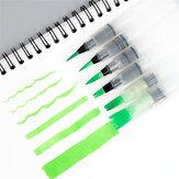WG2019-6 6 шт. / Компл. Портативная краска Щетка акварель Щетка карандаш Soft Щетка ручка для начинающих рисование принадлежности для рисования