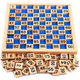 Montessori Matematik Malzeme Çocuk Öğrenme Ahşap Eğitimi No 1 - 100