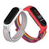 Holdmi 2-IN-1 удобный ремешок для часов Nylon Стандарты + часы из ТПУ Чехол Замена крышки для Xiaomi Mi Band 5 / Xiaomi Mi Band 4/3 Неоригинальный