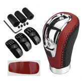 5/6 Speed Universal Manual Car Gear Shift Knob Shifter Lever Stick with 3 Cap