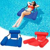 PVC Zomer Opblaasbare Stoel Drijvende Rij Zwembad Water Hangmat Ligstoel Stoel Luchtbedden Bed Watersport Strand