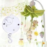 Baby-Kinderbett Bett hängende Glocke Wind-up rotierende Spieluhr Kinder entwickeln Spielzeug Geschenk