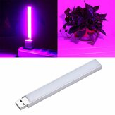 2,5 W 14 LED USB Full Spectrum Red: Blue 10: 4 Grow Light voor Indoor Hydroponic Flower Plant DC5V