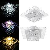 5W 220V 18cm Bright Crystal LED-plafondverlichting Armatuur Hangende ganggang Lampen