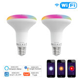 MoesHouse E27 13W WiFi Smart LED Light Bulb Dimmable RGB C+W Lamp Smart Life Tuya APP Work with Alexa Google Home