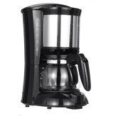 Máquina de café para uso doméstico de 600W 650 ml Máquina de café americano Chá Maker Dual Use