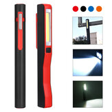 3W COB +1W LED USB Magnetic Work Light Outdoor Camping Emergency Flashlight Night Inspection Lamp