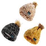 Беспроводная беспроводная шапка Bluetooth Music Шапка Cap Soft Гарнитура Наушники Динамик Микрофон