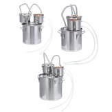 12L/20L/30L Home Alcohol Distiller Brewing Kit Moonshine Still Stainless Boiler