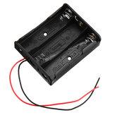 10 Stück 3 Steckplätze 18650 Batterie Halter Kunststoffgehäuse Aufbewahrungsbox für 3 * 3,7 V 18650 Lithium Batterie