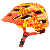 CAIRBUL-46JOYTRACKCascodisicurezzaper ruote a bilanciere da bicicletta per casco con casco per bambini con fanale posteriore